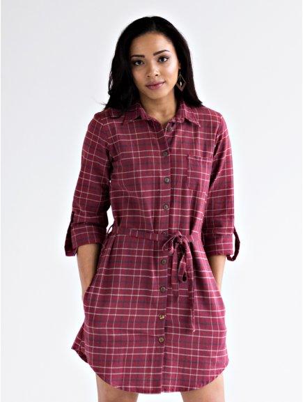 dress sabina rosewine m
