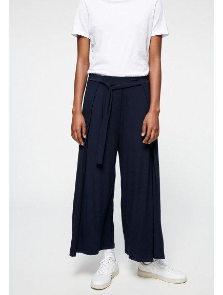 """Dámské tmavě modré culotte kalhoty """"KAROLINAA"""""""