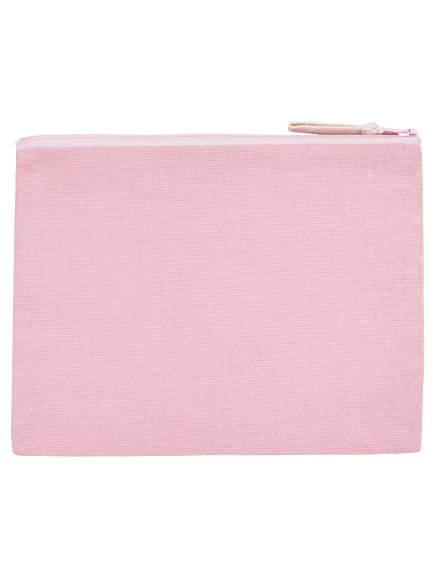 Pencil Case Cotton Pink Packshot Front Main 0