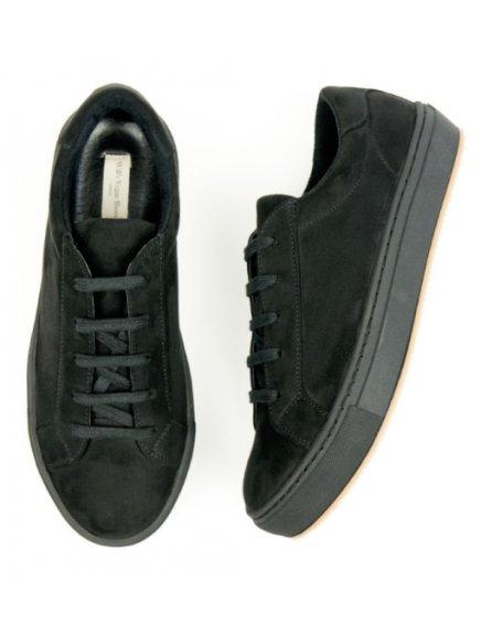 """Pánské černé tenisky """"Colour Sneakers Black"""" - nový model"""