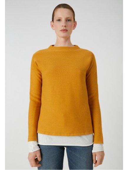 """Dámský žlutý svetřík """"Medinaa Caramel"""""""