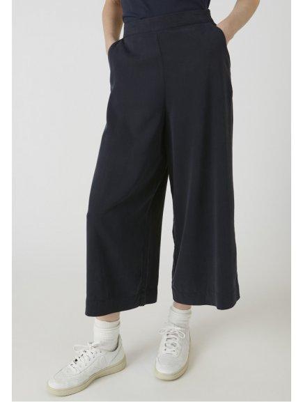 """Dámské modré culotte kalhoty z eukalyptu """"KAYLA frozen blue"""""""