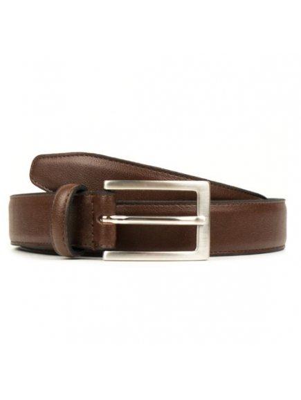 classic 3cm belt chestnut