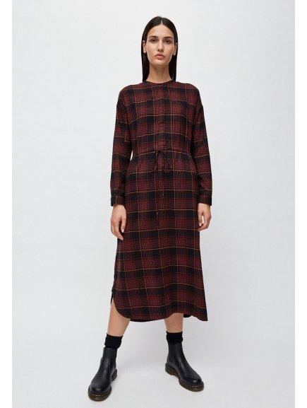 """Dámské kostkované šaty """"VAALBORG winter check"""""""
