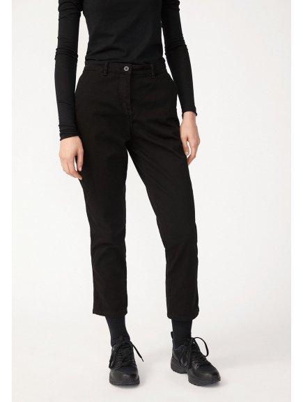 """Dámské černé chino kalhoty """"VESTAA"""""""