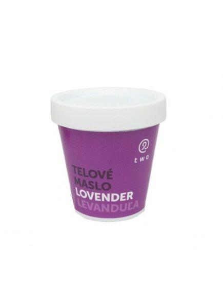Two cosmetics Tělové máslo Lovender - levandule (200 g)
