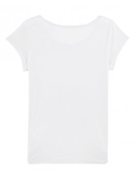 "Dámské bílé tričko ""Stella Glows Modal"""