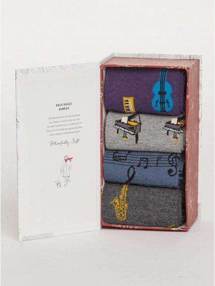 sbm melody melody musical bamboo sock gift box 1 1