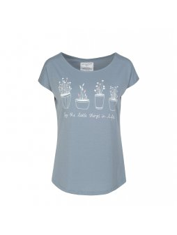 "Dámské šedé tričko ""Scarlett Enjoy Little Things"""