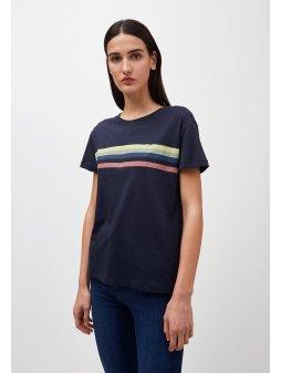 "Dámské tričko z biobavlny ""NELAA Colored stripes"""