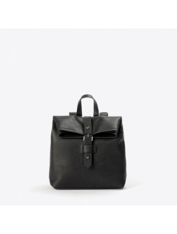 backpack vegan ethicool cruelty free black italian