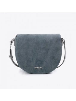 saddle bag vegan divina cruelty free blue italian