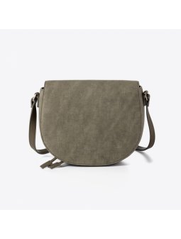 saddle bag vegan divina cruelty free olive italian
