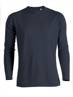 """Pánské triko s dlouhým rukávem """"Stanley Shuffles"""" odstíny modré"""