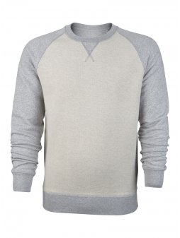 P M523 ST Strolls Inside out front Heather Grey