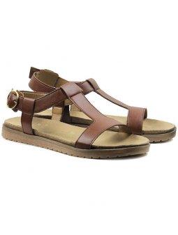 Sandálky kaštanové