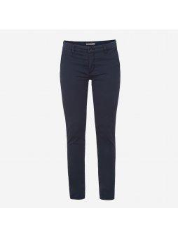 """Dámské tmavě modré chino kalhoty """"Jules"""