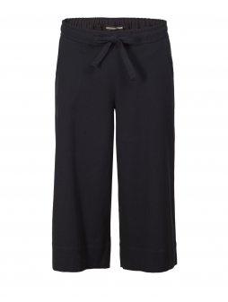 """Dámské černé culotte kalhoty s mašličkou """"Jessica"""""""