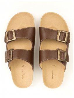 """Pánské kaštanové sandálky """"Footbed Sandals"""""""
