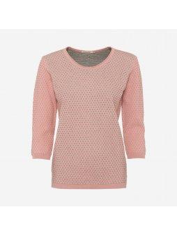 "Dámský růžový svetřík ""Rahel"""