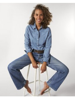 Stella Inspires Denim Light Indigo Denim Studio Front Main 5