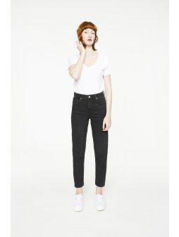 """Dámské džíny s vyšším pasem """"Keiko Washed Black"""""""