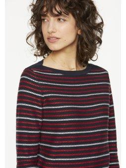 """Dámský proužkatý svetr """"Olia Stripes"""""""