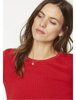 """Dámský červený svetřík """"Ria"""""""
