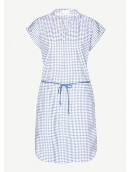 "Dámské modré šaty ""Dilara Vichy Check"""
