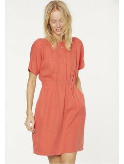 """Dámské meruňkové šaty z eukalyptu """"Ebba"""""""