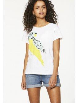 """Dámské tričko s papouškem """"Nela Love Bird"""""""