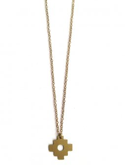necklace incacross gold