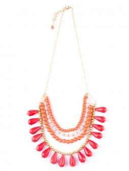 necklace etta red