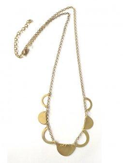 necklace crescentcutout