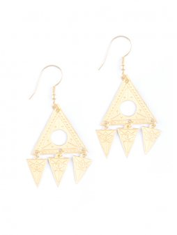 earrings cosmos gold