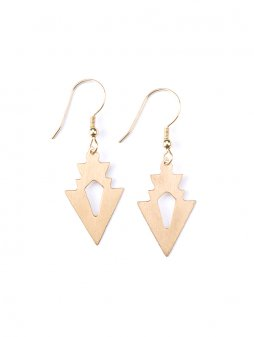 earrings petitarrow gold