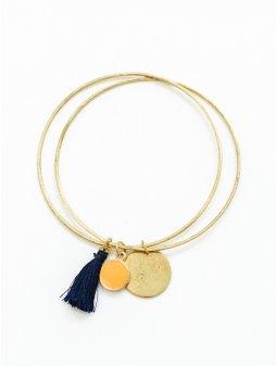 bracelet tasselcharm gold