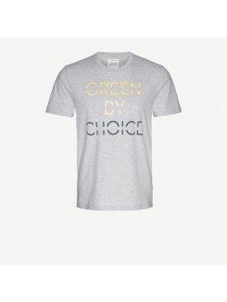 """Pánské světle šedé tričko """"James Green"""""""