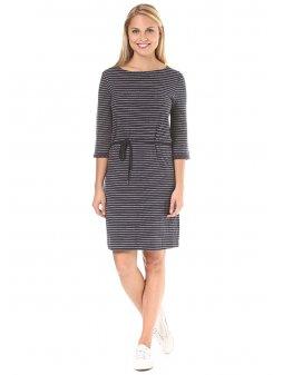 armedangels cora stripes dress women blue stripes