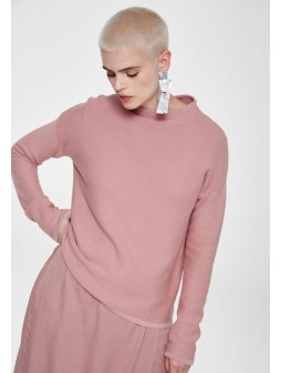 """Dámský růžový svetřík """"Medine"""""""