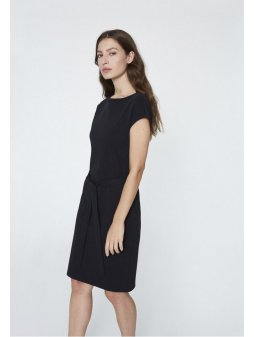 """Dámské černé šaty z biobavlny """"Alada"""""""