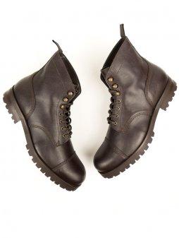 work boots dark brown 2 1