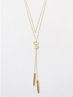 necklace bolo gold1