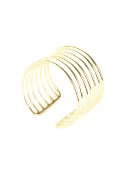 bracelet coilcuff gold2