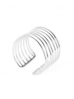 bracelet coilcuff silver