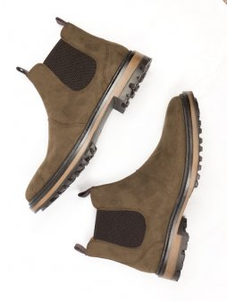 continental chelsea boots brown womens