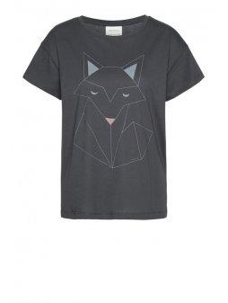 """Dámské šedé tričko """"Nela Fox"""""""