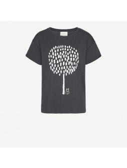 "Dámské šedé tričko ""Nalin Big Tree"""