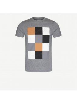 """Pánské šedé tričko """"Jamie Pixels"""""""