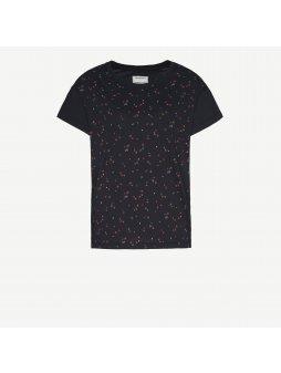 """Dámské tričko z biobavlny """"Nela Simple Wild Flowers"""""""
